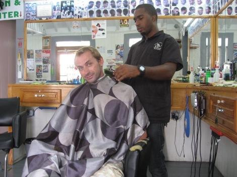 Antigua Hair Cut