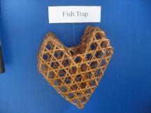 I 'fish trap' you ! get it ? Its shaped like a heart - I heart you ? nevermind