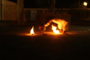 Fire Dancer Antigua