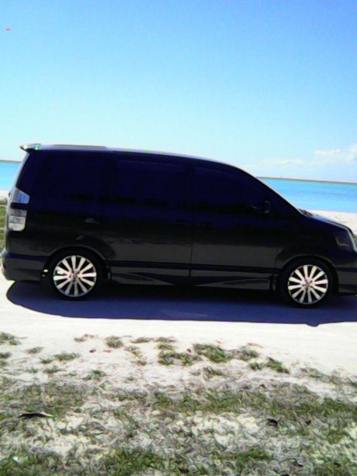 antigua beach tour van
