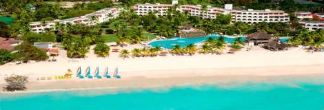 A popular all inclusive option for Antigua.