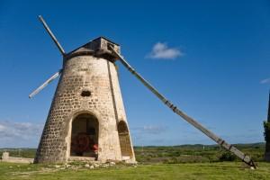 Typical Antigua Sugar Mill Relic