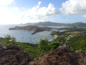 Shirley Heights to English Harbour View