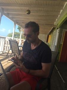 Calvin in Antigua