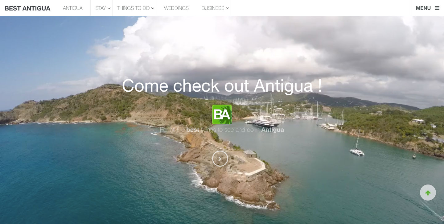 front-page-best-antigua-website